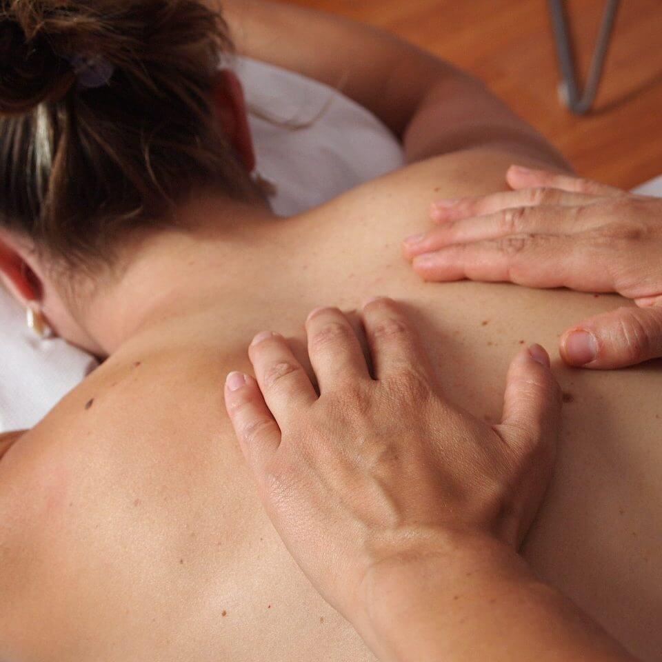 massage à l'huile bien-être détente énergétique